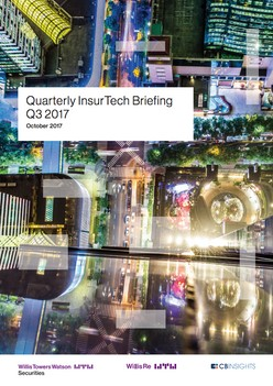 Report: Quarterly InsurTech Briefing Q3 2017