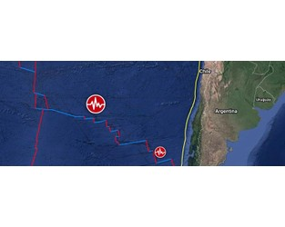 Shallow M6.0 earthquake hits West Chile Rise - The Watchers