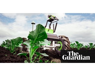 'We'll have space bots with lasers, killing plants': the rise of the robot farmer - Guardian