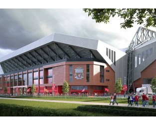 Buckingham gets start date for £60m Anfield Road Stand - Construction Enquirer