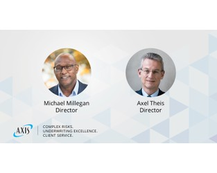 AXIS Appoints Michael Millegan and Axel Theis to Board of Directors