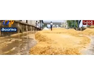Massive crop loss as heavy unseasonable rain and hailstorms hits Telangana, India - The Watchers
