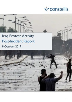 Iraq Protest Activity: Post-Incident Report - Constellis
