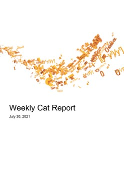 Weekly Cat Report - July 30, 2021