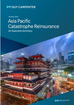 2019 Asia Pacific Catastrophe Reinsurance Report