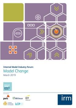 Internal Model Industry Forum: Model Change