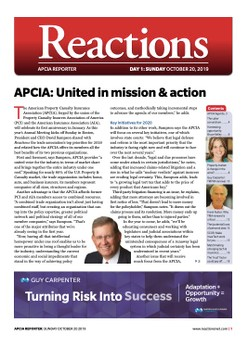 Live from Boston: APCIA Newsletter Day 1