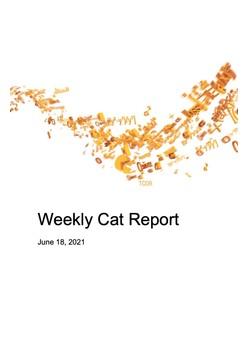 Weekly Cat Report - June 18, 2021