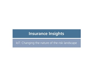 Video: Insurance and IOT