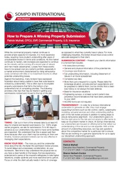 How to Prepare A Winning Property Submission