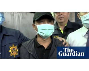 Taiwan train crash: truck driver charged with negligent homicide - The Guardian