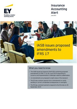IASB issues proposed amendments to IFRS 17