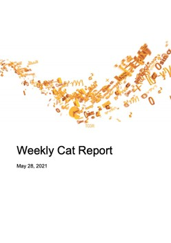 Weekly Cat Report - May 28, 2021