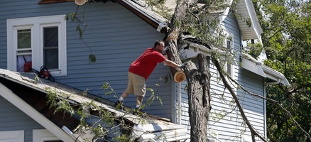 'Kicked in the teeth': Devastation mounts from Midwest storm - AP
