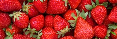 Strawberries and scream