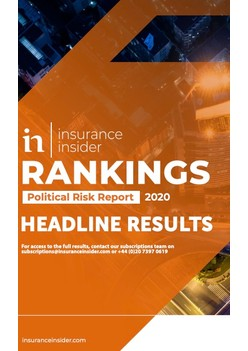 Insurance Insider Political Risk Rankings Report 2020
