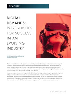 Digital Demands: Prerequisites for Success in an Evolving Industry - Declarations