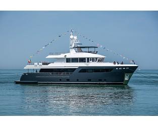 CdM launches fifth 31m Darwin Class 102 yacht Archipelago - Superyacht Times