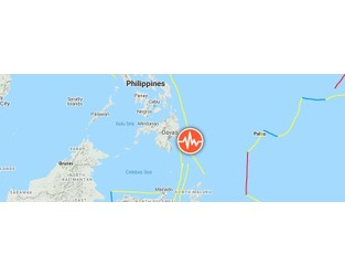 Powerful M7.1 earthquake hits off the coast of Mindanao, Philippines - The Watchers