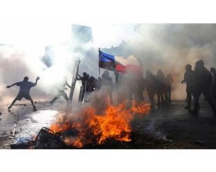 Coronavirus a 'slow burner' for political violence market