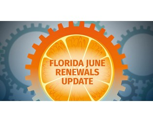 Florida 1.6 rate increases moderate in tale of two markets