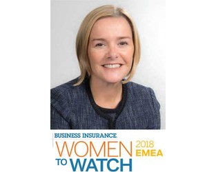 2018 Women to Watch EMEA: Jane Kielty - Business Insurance