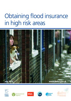 Obtaining flood insurance  in high risk areas