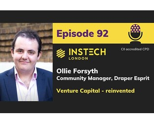 Podcast – Ollie Forsyth: Community Manager, Draper Esprit: Venture Capital - reinvented