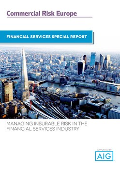 Managing Insurable Risk in the Financial Services Industry