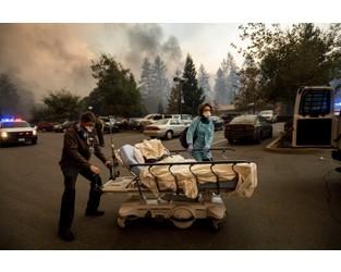 Fleeing fire common in California; evacuation plans aren't - AP