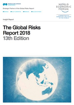 The World Economic Forum Global Risks Report 2018