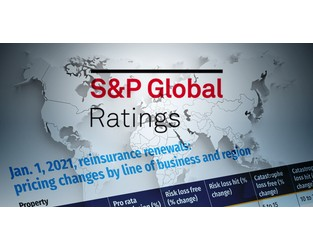 S&P: Reinsurance sector didn't earn its cost of capital in 2020