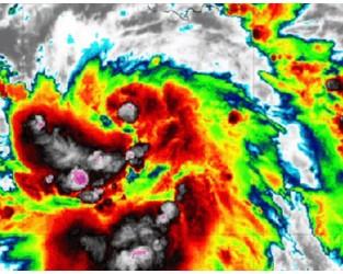 Tropical Storm Delta Late Week US Gulf Coast Threat