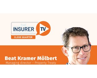 Close Quarter with Swiss Re's Beat Kramer Mölbert