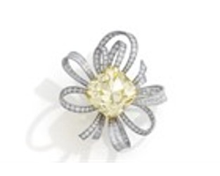 Christie's to Offer 107ct. Yellow Diamond - Rapaport