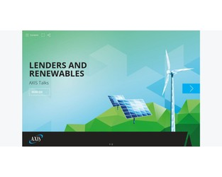 AXIS Talks: Lenders and Renewables