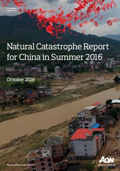 Natural Catastrophe Report for China in Summer 2016
