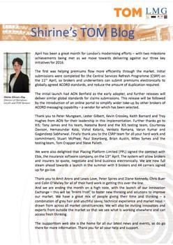 Shirine's TOM Blog