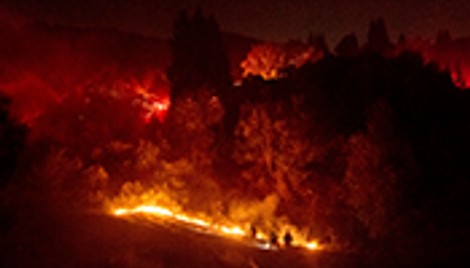 Pandemic adds another hazard for California officials' wildfire preparations