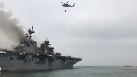 Video: U.S. Navy Ship Fire in San Diego Could Be an Environmental Disaster - The Weather Channel