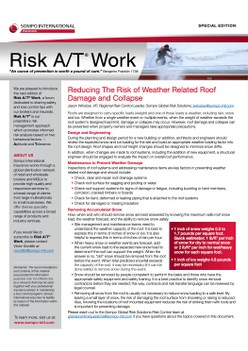 Reducing The Risk of Weather Related Roof Damage and Collapse