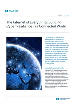 Internet Of Things: Building Cyber Resilience In A Connected World
