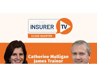 Close Quarter with Aon's Catherine Mulligan and James Trainor - The Insurer TV