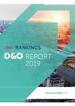 D&O Rankings Report 2019