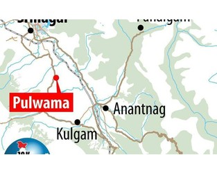 Eight civilians injured in Pulwama grenade attack - The Hindu