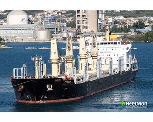 Bulk carrier collided with general cargo ship in Marmara sea, both damaged - FleetMon