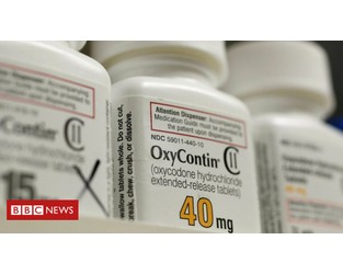 OxyContin maker Purdue Pharma files for bankruptcy - BBC
