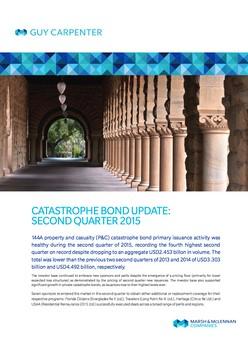 Catastrophe Bond Update: Second Quarter 2015