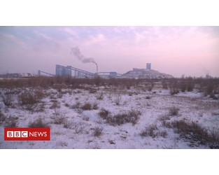 Video: China's struggle to move away from coal - BBC