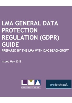 LMA General Data Protection Regulation Guide